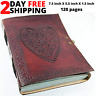 Handmade Paper Bound Large Vintage Heart Embossed Journal Leather Photo Album