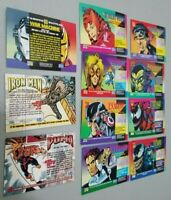 Lot of (11) 1993 Marvel Trading Cards Venom Iron Man Carnage Fantastic FREE SHIP