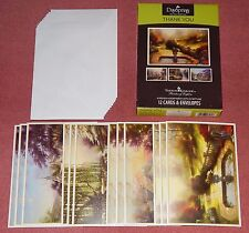 Box of 12 Thank You Cards by Thomas Kinkade {DaySpring #51855} - New