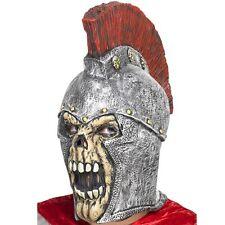 Halloween Fancy Dress Roman Soldier Skeleton Latex Full Head Mask by Smiffys