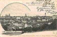 Saaz,Austria,Totalansicht vom Stadtpark,Used,No Stamp,c.1900