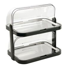 Double Decker Roll Top Cool Plate Display Tray Catering Restaurant Display Party