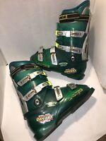 LANGE Banshee XR Aqua Green Ski Boots - Made in Italy Size 10 323mm