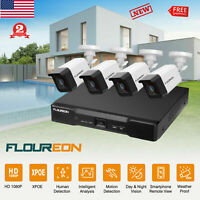 8CH X POE NVR 1080P CCTV Security Camera System Network Video Human Detection