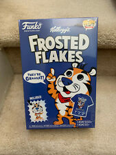 Funko Tony the Tiger Shirt & Pocket Pop set in Cereal Box, Frosted Flakes Large