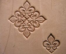 014-04 Fleur de Lis Leather stamp homemade Saddlery Tool