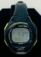 Casio LW203-1BV, Women's Digital Chronograph Watch, Black Resin Band, Alarm