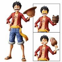 One Piece Anime Nero Monkey D. Luffy Banpresto Grandista Figure Toy Doll Figure
