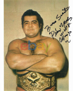 Pedro Morales signed Wrestling 8x10 Autographed Photo Reprint