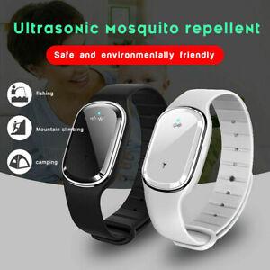 Smart Ultrasonic Anti Mosquito Repellent Wrist Bracelet Insect Pest Bug Repeller