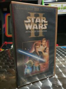 Star Wars Episode II: Attack of the Clones - VHS Video Tape