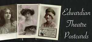 ☆ EDWARDIAN THEATRE ACTRESS ☆ 1900s Postcards LIST 5