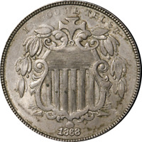 1868 Shield Nickel Great Deals From The Executive Coin Company