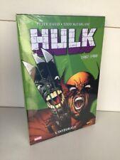 Intégrale Marvel Hulk 1987 1988 Panini