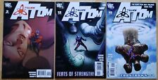 THE ALL-NEW ATOM - 3-Issue Lot - #2, #12, #15 - DC Comics - Justice League