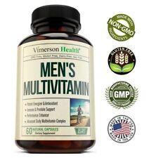 Vitaminas Para Hombres Mayores De 40 Años - Recupera Tu Energía Y Vitalidad NEW
