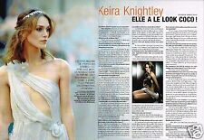 Coupure de Presse Clipping 2007 (2 pages) Keira Knightley