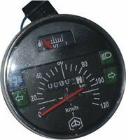 Speedometer / Tacho Vespa Lml Px Lusso 80, 125, 150, 200, 120Km/H/80 Mph Black