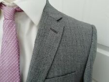 Richard James Suit 38 R Nuevo/Bnwt Gris PUPPYTOOTH Mayfair Savile Row Traje De £ 445