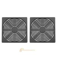 2Pcs Dustproof 120mm Case Fan Dust Filter Guard Grill Protector Cover PC Compute
