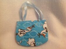 "Frozen Olaf Disney Purse Bag American Girl 14""/18"" Bitty Baby doll clothes"