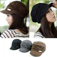 New Fashion Women Beach Sun Summer Outdoor Beanie Hat Peaked cap Cotton Travel