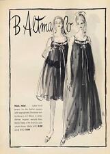 1962 B. Altman & Co Noel Nylon Tricot Gowns Lingerie ART PRINT AD-