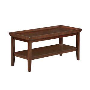 Convenience Concepts Ledgewood Coffee Table, Espresso - 501082ES