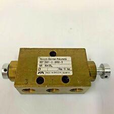 """REXROTH MECMAN 2991-0-8953-9 Mod 304/20 5/2-Way 1/8"""" Pneumatic control Valve"""