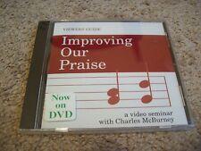 Mejorando nuestro elogio-video Seminario Charles Burney DVD * Sellado *