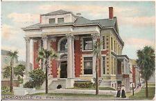 Elks Club in Jacksonville FL Postcard 1910 Tuck