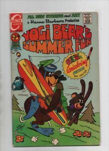 Yogi Bear #7 - Yogi Bear's Summer Fun - Hanna-Barbera - (Grade 4.0) 1971