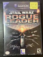 Star Wars: Rogue Leader -- Rogue Squadron II Nintendo Gamecube No Manual Tested