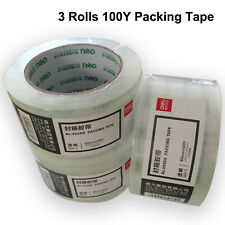Packing Tape High Quality Highly Transparent With Strong Glue 2 4 8 Rolls