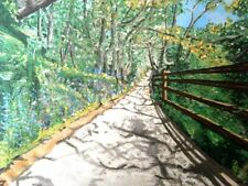 """""""Country Path"""" ,Original Artwork, In Acrylic on canvas , 12 x 16 """""""