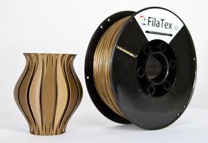 Premium PET PETG Filament Gold  1,75mm 1KG für 3D Drucker