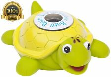 Ozeri Turtlemeter Safe Infant Baby Bath Tab Floating Turtle Thermometer Toy
