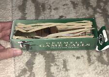 J.F. Gemmell Mallard Game Call - Walnut, Single Reed