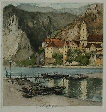 Luigi Kasimir ( 1881-1962 ) Dürnstein