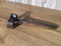 Antique Conestoga Wagon Wheel Wrench Primitive Tool Hand Forged E2