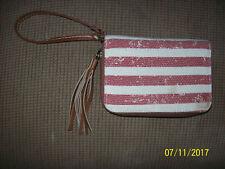 Mudd  Red - White - Blue  Organizer Clutch Wallet/Wristlet