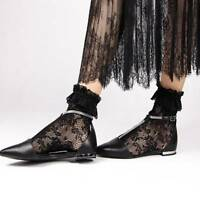 Sweet Lolita Princess Lace Socks Elastic Ruffle Short Ankle Women Girl Socks