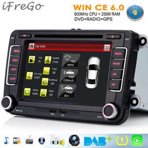 7'' DVD GPS NAVI Autoradio Bluetooth Für VW Polo GOLF 5 6 PASSAT CC TIGUAN SKODA