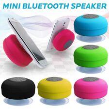 Mini Bluetooth Portable Wireless IPX4 Waterproof Shower Speaker Waterproof LED
