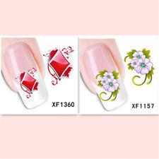 2Sheet/New Fashion Trend Beautifully Beautiful DIY Nail Stickers XF1360+1157