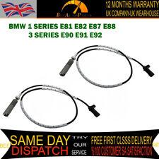 2X REAR R L ABS WHEEL SPEED SENSOR FOR BMW 1 E81 E82 E87 E88 3 E90 E91 E92