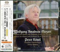 PETER ROSEL-MOZART: PIANO CONCERTOS VOL.1-JAPAN SACD Hybrid H25