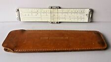 Vintage Slide ruler with case Pickett model 200 mathematical calculations