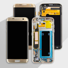 For Samsung Galaxy S7 SM-G930 S7 Edge SM-G935F LCD Touch Screen Digitizer Frame