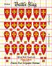 Battle Flag - Baron William Latimer Retinue Set (Early Medieval) - 28mm